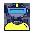 Virtual Reality Goggles VR