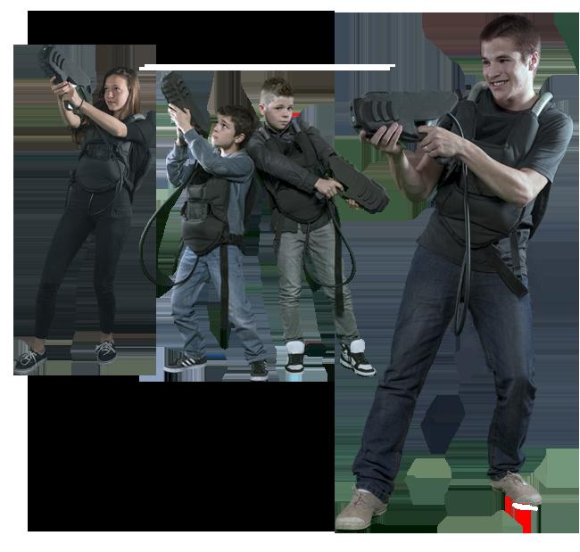 Laser Tag Family Fun